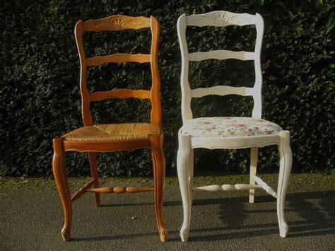 tapisser une chaise en tissu les 25 meilleures idées concernant relooking de chaise sur