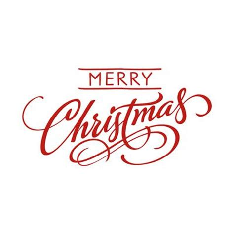 clipart buon natale merry print merry