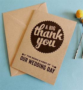 pack of 10 retro wedding thank you cards by project pretty With packs of wedding thank you cards