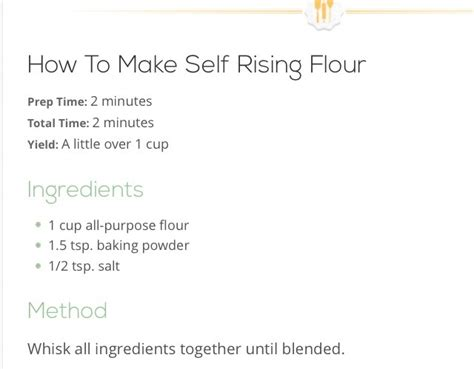 how to make self rising flour quot how to make self rising flour quot musely