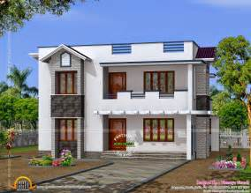 stunning small modern home design kerala home design and floor plans 2016