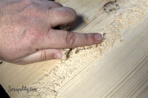 And how to fill them correctly in steps. DIY Wood Countertop and Wood Filler for the Kitchen