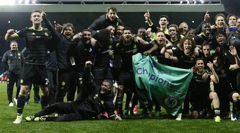 Chelsea are the new EPL champions as Antonio Conte ...