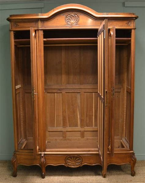 Large Armoire Wardrobe by Large Armoire Wardrobe Large Decorative Walnut