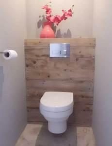 Cuvette Wc Bois : d co toilettes bois ~ Premium-room.com Idées de Décoration