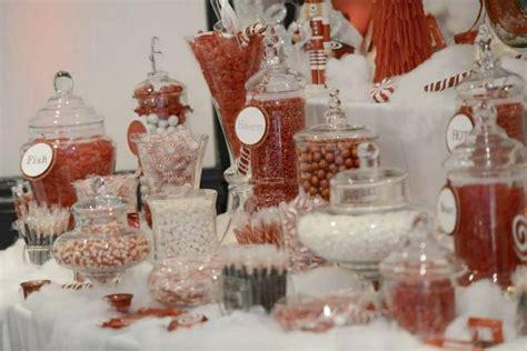 Christmas Candy Bar Wedding