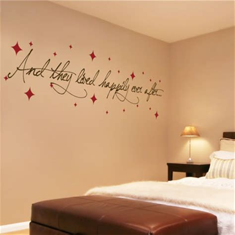 Master Bedroom Wall Decals Quotes by Bedroom Wall Quotes Quotesgram