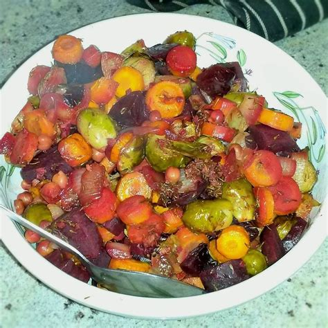 Savoury Roasted Root Vegetables Recipe  All Recipes Uk