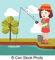 Girl fishing Illustrations and Stock Art. 3,051 Girl ...