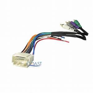 Amplifier Integration Radio Wire Wiring Harness For 2002