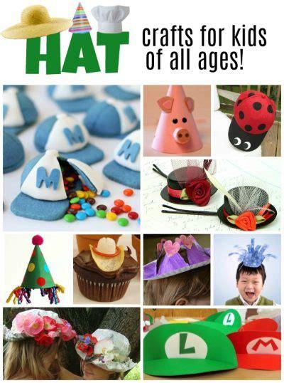 hat crafts  kids   creative ideas