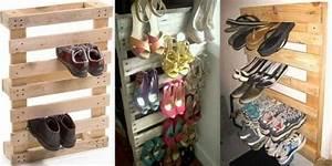 Idee Rangement Chaussure : id es de rangement pour chaussures ~ Teatrodelosmanantiales.com Idées de Décoration