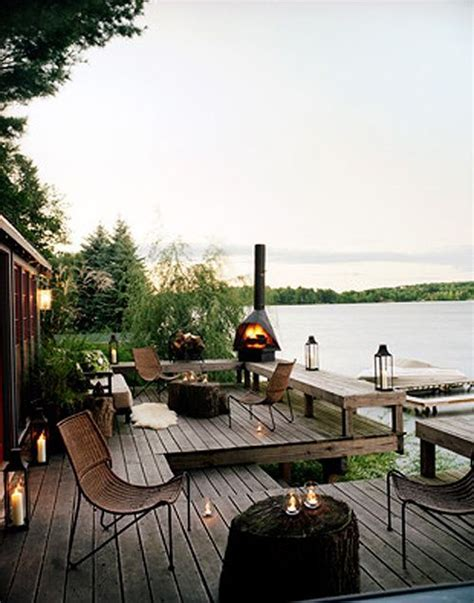 backyard deck outdoor living space