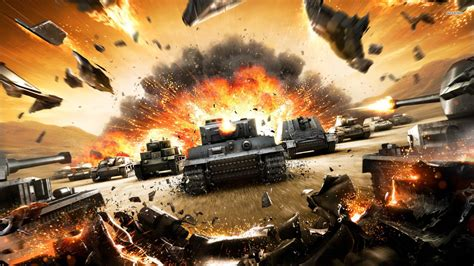 World Of Tanks Is Coming To Xbox One On July 28 Vg247