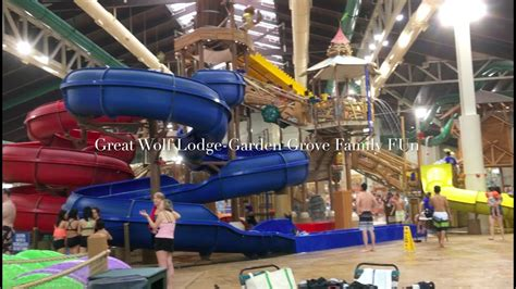 garden grove water park great wolf lodge at california garden grove family