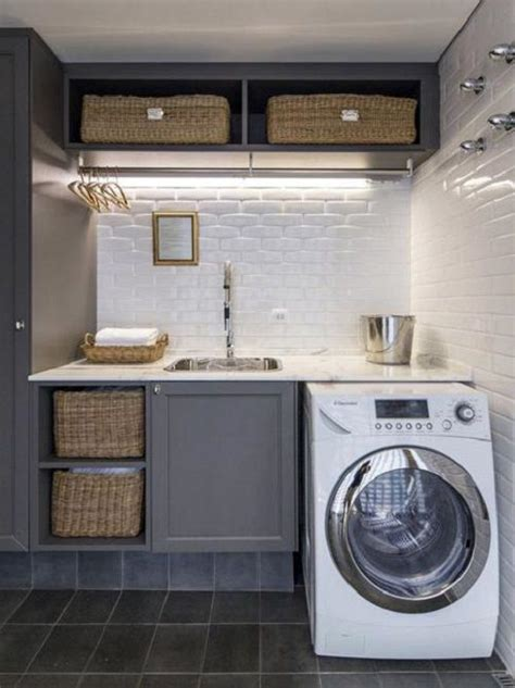 Laundry Room Design Ideas For Small Spaces 20 space saving ideas for functional small laundry room