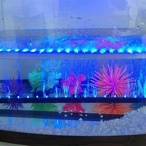 blue led aquarium light blue led aquarium fish tank airstone light