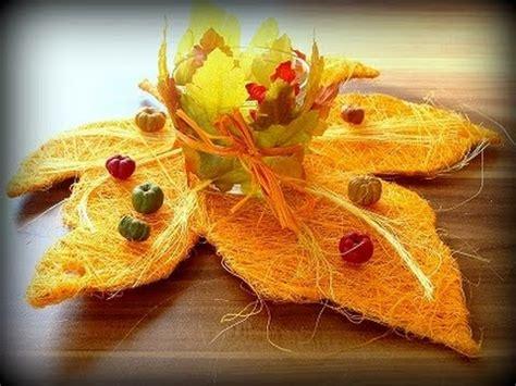 Herbstliche Dekorationen Für Den Tisch by Diy Dekoration Deko Ideen Herbstdeko Tischmuck Herbst