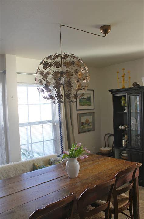 hanging  chandelier  center home design ideas