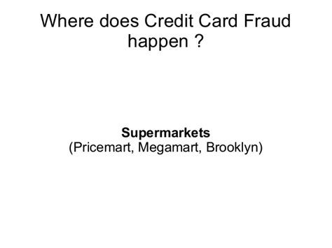 Credit card fraud is a form of a broader category of crime known as identity theft, by which criminals use your personal. Credit card fraud