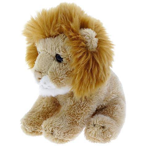 Mini lion soft toy   Natural History Museum Online Shop