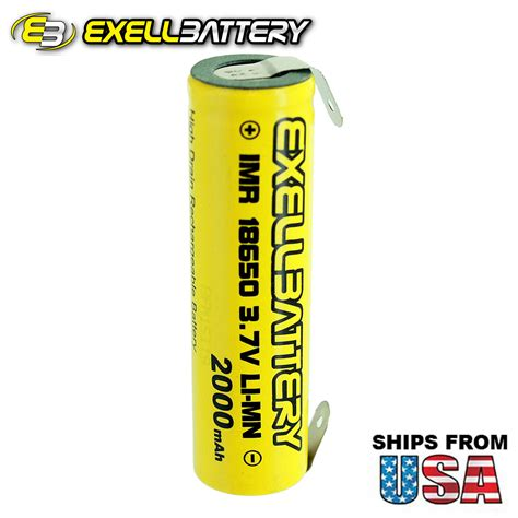 new fresh imr 18650 3 7v limn 2000mah rechargeable battery