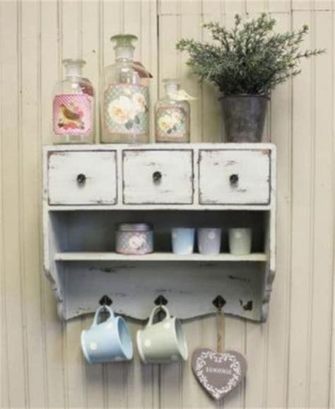 shabby chic kitchen storage vintage chic cupboard rustic white cabinet shelf 3 drawers 5150