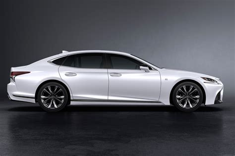 lexus new sports lexus ls 500 f sport unveiled at nyias 2017 by car magazine