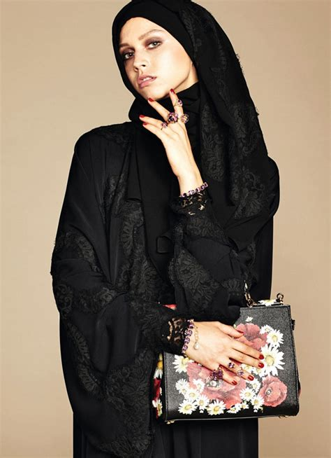 dolce gabbana releases    hijab collection
