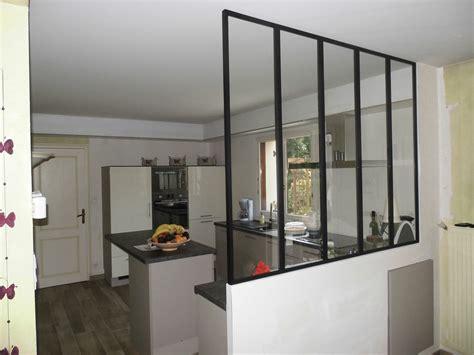 cuisine et salle à manger verriere de separation interieure 10 s233paration entre