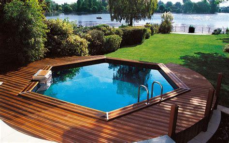 piscine hors sol semi enterree bois devis piscine les infos 224 savoir pour ne pas se faire avoir