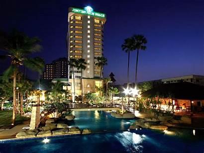Pattaya Beach Jomtien Hotel Palm Resort Thailand
