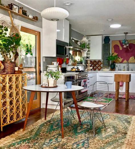 24+ Breathtaking Boho Chic Home Kitchen