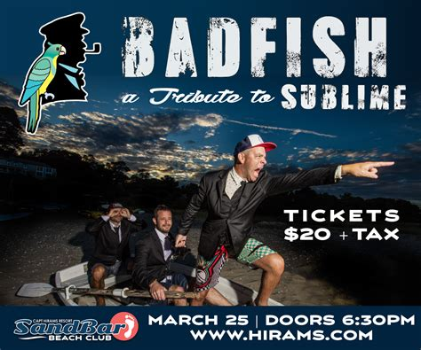badfish  captain hirams resort