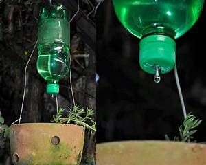 Pflanzen Bewässern Pet Flaschen : bequem regulierte bew sserung mit hilfe von pet flaschen deckel durchbohren schraube ~ Whattoseeinmadrid.com Haus und Dekorationen