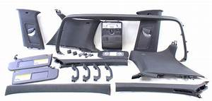 Black Upper Headliner Interior Trim Swap 06