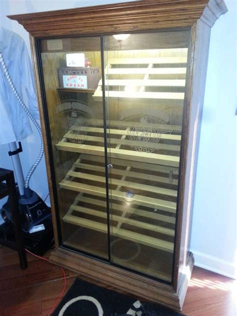 Cigar Cabinet Humidor Craigslist by New Cabinet Humidor Humidor Tutorial Friends Of