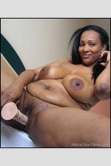 Horny African Mom Masturbating with Dildo - AFRICA-SEX-PRESS