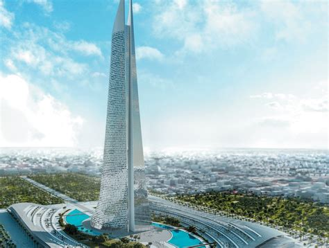 saudi  build africas tallest skyscraper  morocco