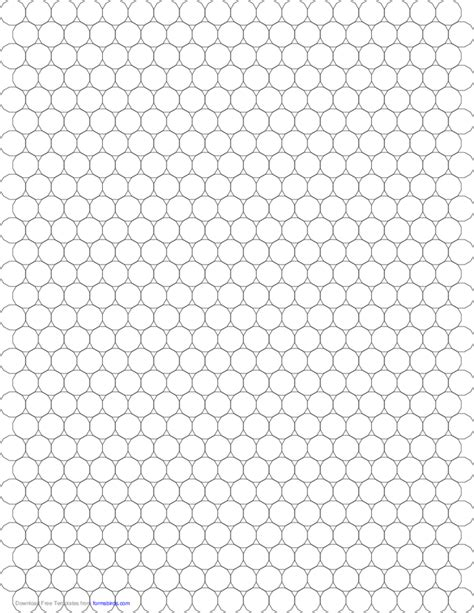 small tessellation graph paper