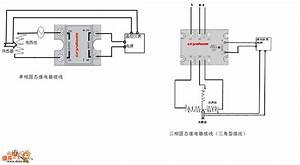 Solid-state Relay Basic Wiring Schematic Diagram