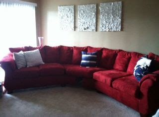 red sectional sofa ashley furniture 161025574 ashley furniture microfiber red sectional couch