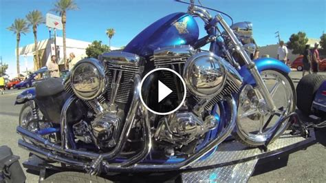 Unique Harley Equipped With 4 Engines