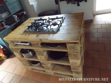 mueblesdepaletsnet encimera de cocina  fogones hecha
