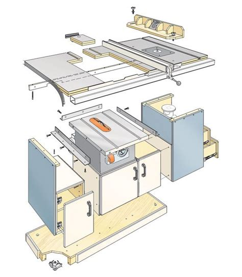 table  workcenter woodworking plan converts