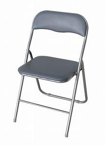 Folding Desk Chair Silver LPD Furniture