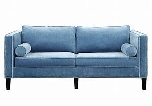 Tov furniture the cooper collection contemporary style for Contemporary velvet sectional sofa