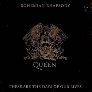 QUEEN Bohemian Rhapsody These Are The Days Of Our Lives Vinyl Record 7 Inch Parlophone 1991