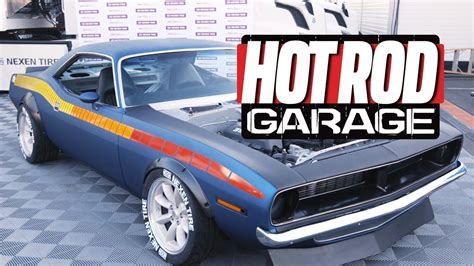 rod garage show drift cuda hits the sema show and then the track