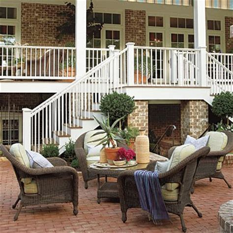 southern living idea house porches decks and patios